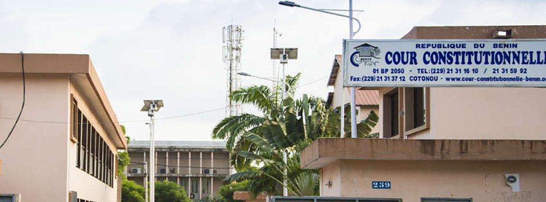 Bénin : la Cour constitutionnelle, essuie-pied du régime de la Rupture
