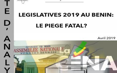 LEGISLATIVES 2019 AU BENIN : LE PIEGE FATAL ?