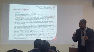 Forum International sur la santé et le bien-être organisé à Accra par l'Université britannique de Lancaster (UL)