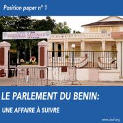 Le parlement du Bénin: une affaire à suivre