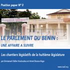 Les chantiers législatifs de la huitième législature