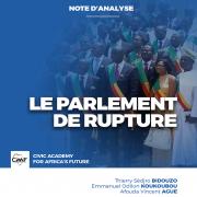 Le parlement de rupture