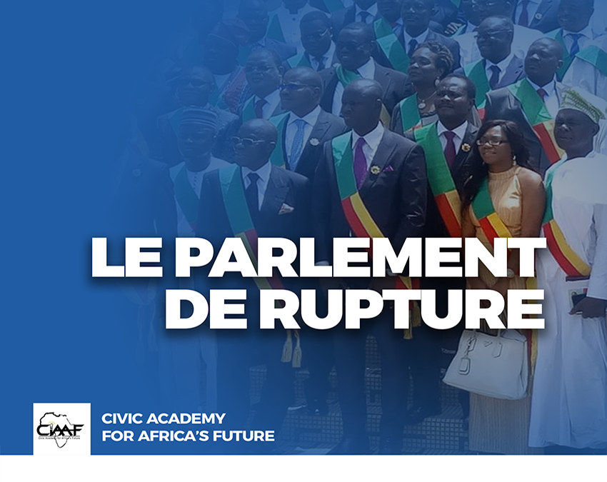 Le parlement de rupture