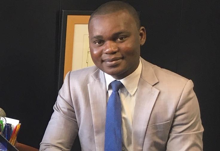 Emmanuel Odilon Koukoubou en séjour de recherche à l'Université Jean Moulin de Lyon en France