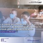 La crise du Covid-19 et le système éducatif béninois : quels impacts pour quels changements ?