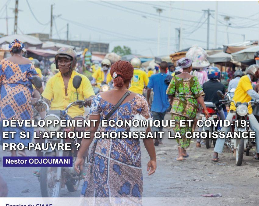 Développement économique et Covid-19 : et si l'Afrique choisissait la croissance pro-pauvre ?