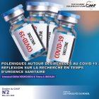 Polémiques autour des remèdes au Covid-19. Réflexion sur la recherche en temps d'urgence sanitaire